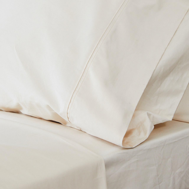 If you're looking for eco-conscious, vegan bedding, check out carbon neutral company Avocado Mattress. They sell more than just mattresses - such as organic cotton sheets.