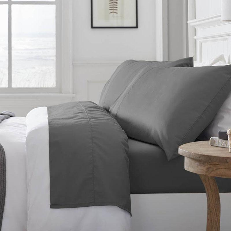 If you're looking for eco-conscious, vegan bedding, check out these GOTS certified 100% organic cotton sheets from Grund.