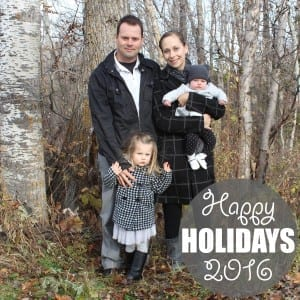 Happy Holidays 2016   www.ofhousesandtrees.com