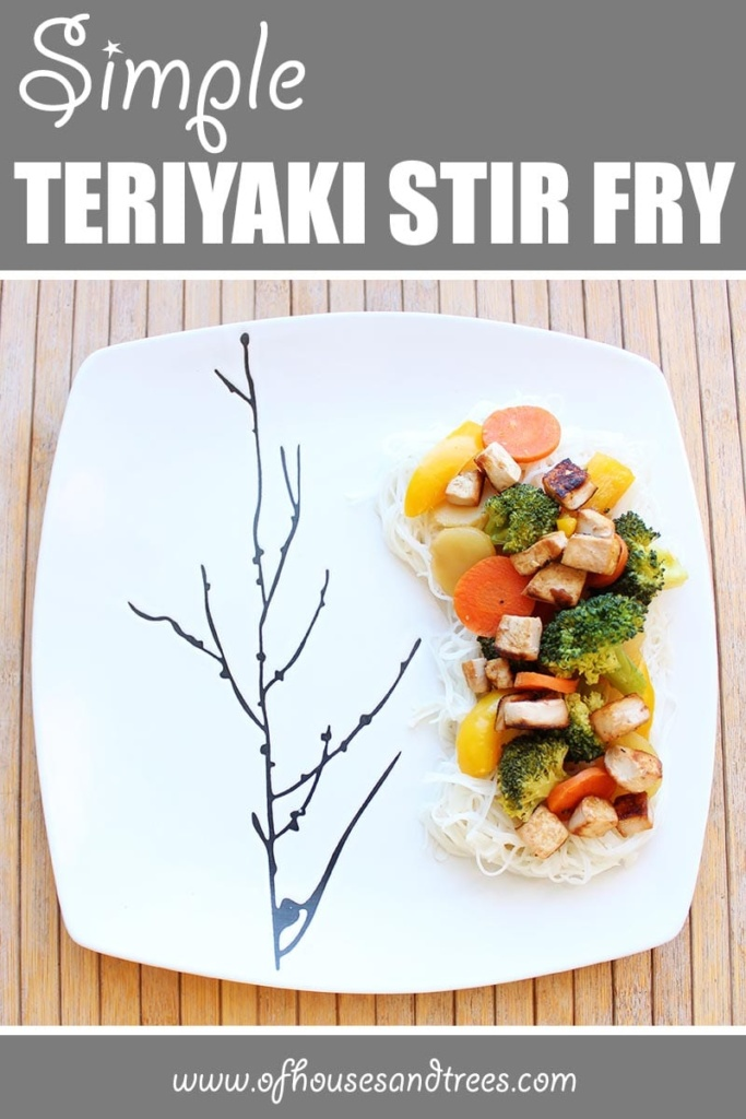 Simple Teriyaki Stir Fry | A super simple, super delicious, super nutritious version of a healthy veggie stir fry that's easy to customize. Let the sauté-ing begin!