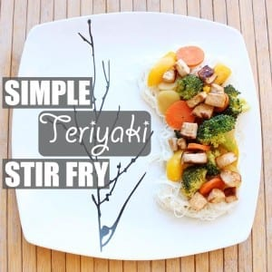 Simple Teriyaki Stir Fry