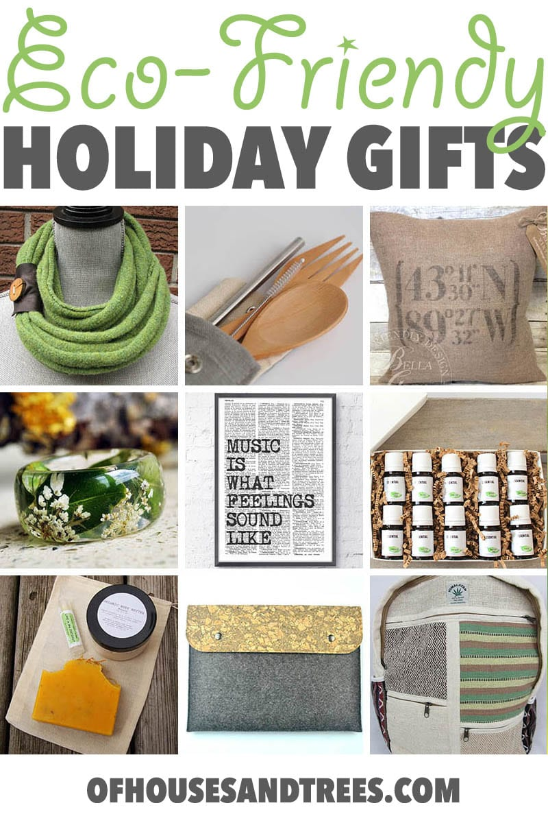 Eco-Friendly Christmas Gifts | Green the holidays this year with these eco-friendly Christmas gifts - made by awesome, earth-conscious artisans from around the world.