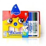 Eco-friendly craft supplies - eco-friendly washable markers in various colours.