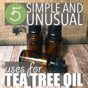 Tea tree oil essential oil has long been used to treat acne, cure infections and soothe bug bites. But did you know it can also be used to clean glasses?