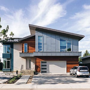 """You might be wondering what an eco-friendly house costs and if it's something you can afford. This energy efficient Net-Zero home is just one example on the spectrum of environmentally conscious houses, which can range from a certified green home to a standard home with green finishes. Remember - """"eco-friendly"""" doesn't mean all or nothing!"""
