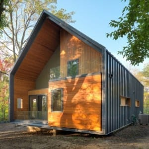 """You might be wondering what an eco-friendly house costs and if it's something you can afford. This LEED Platinum home is just one example on the spectrum of environmentally conscious houses, which can range from a certified green home to a standard home with green finishes. Remember - """"eco-friendly"""" doesn't mean all or nothing!"""