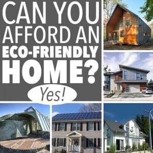 Can You Afford an Eco-Friendly Home? Yes!