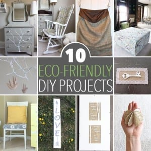 10 Simple Eco-Friendly DIY Projects for Your Home