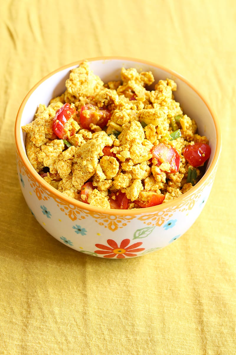 Want to know how to turn one of the most versatile vegan food products into a delicious faux-egg dish? The perfect tofu scramble recipe is right here!
