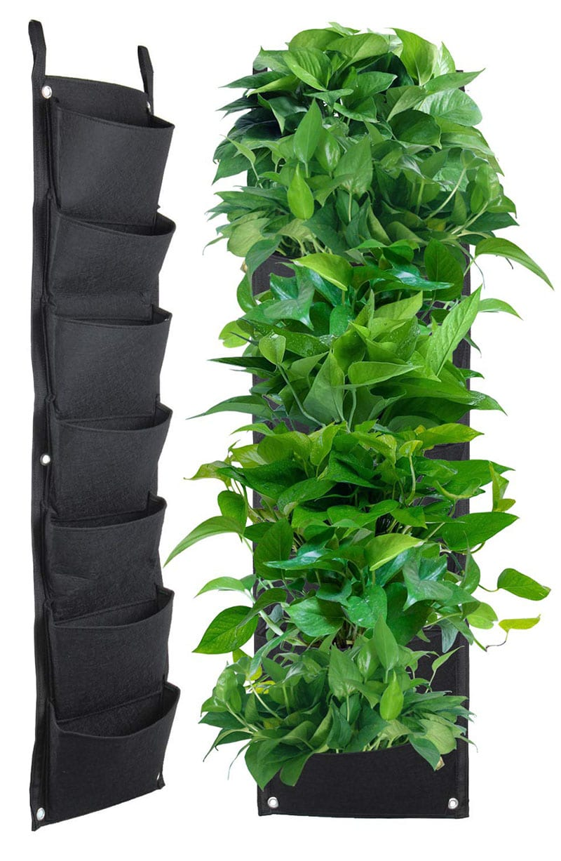 Vertical gardens are one of 10 current Pinterest trends that slant toward a truly inspiring ambition - being more green! Vertical gardens provide a way for people who live in homes without yards to grow their own food, plus indoor plants can improve air quality.