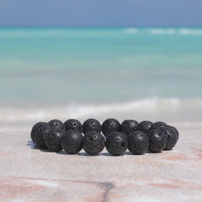If you love nature and you love jewelry, then there's no question about it - you'll love these nine handmade pieces of nature-inspired jewelry! Like this handmade lava rock bracelet.