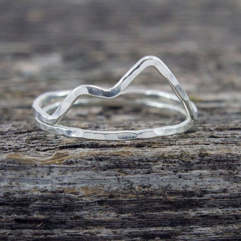 If you love nature and you love jewelry, then there's no question about it - you'll love these nine handmade pieces of nature-inspired jewelry! Like this handmade mountain ring.