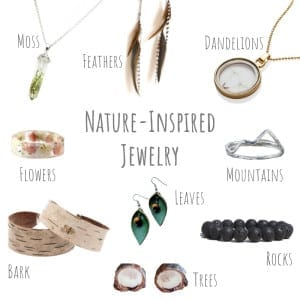 If you love nature and you love jewelry, then there's no question about it - you'll love these nine handmade pieces of nature-inspired jewelry!