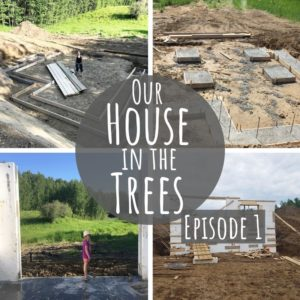 Building a Sustainable Home | Our House in the Trees | Episode 1