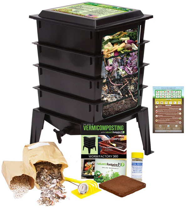 Greening an apartment isn't all that different from greening a house. Try out these eco-friendly apartment ideas, such as an indoor composter - complete with worms! It's the perfect way to get rid of kitchen scraps in an eco-friendly manner.