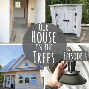 Want to learn about sustainably-manufactured drywall, zero VOC paint and see some beautiful handmade light fixtures? This eco-friendly house is well on its way to being a happy green home!