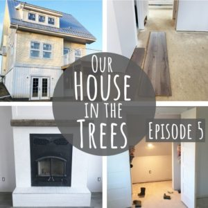 House Construction Update | Our House in the Trees | Episode 5