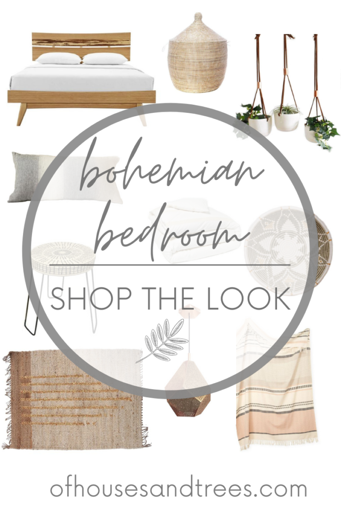 Love the look of bohemian bedroom decor, but need a little guidance pulling it all together? Check out this boho bedroom shopping guide - featuring eco-conscious items from ethical marketplace Made Trade!