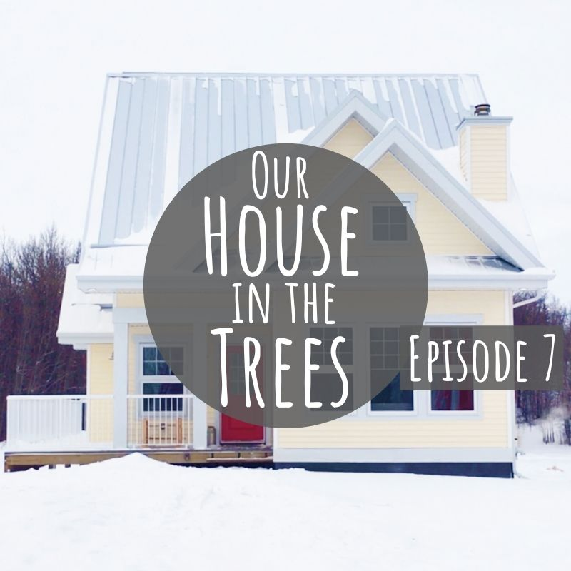 Ever dreamed of building a house from the ground up? Well, this family of four did it - all while trying to be as eco-conscious as possible! Watch them go from raw land to house in the trees in under 15 minutes.