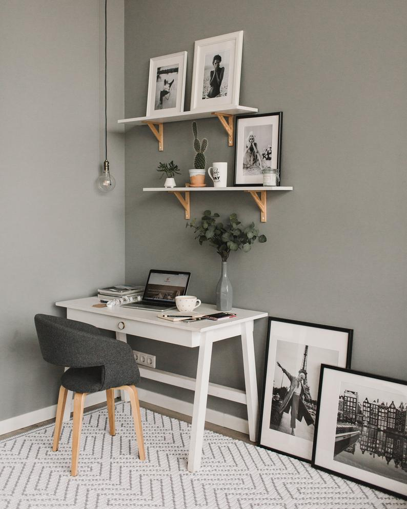 Minimalist Home Office Decor Shopping Guide Of Houses And Trees