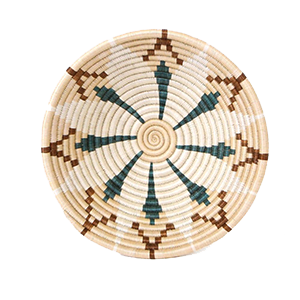 Whether your decor style is Boho, Coastal - even Minimalist - there's a set of woven basket wall decor out there with your name on it! And you can start with the Shades of Sand Hope Bowl from ethical brand KAZI.