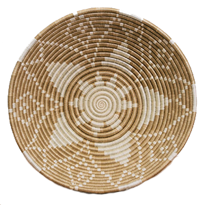 Whether your decor style is Boho, Coastal - even Minimalist - there's a set of woven basket wall decor out there with your name on it! And you can start with the Soft Gold Wall Bowl from ethical brand KAZI.