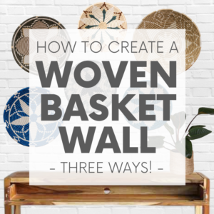 Whether your decor style is Boho, Coastal - even Minimalist - there's a set of woven basket wall decor out there with your name on it!