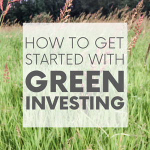 How to Get Started with Green Investing