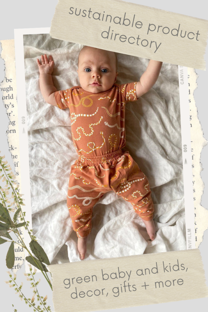 Not only should our little ones be protected from the toxins found in non-green products, we should lead by example - and shop sustainable kids brands!