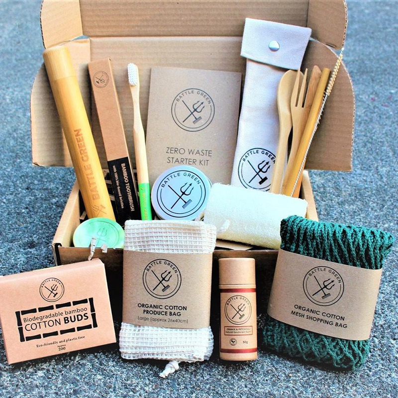 Plastic-free and made by awesome, earth-friendly individuals and brands, you can find zero waste gifts for every person on your shopping list. Like this zero waste kit for the person in your life who just loves thoughtful gifts.