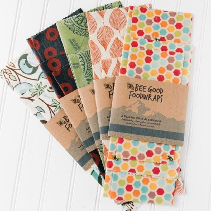 Plastic-free and made by awesome, earth-friendly individuals and brands, you can find zero waste gifts for every person on your shopping list. Like these beeswax wraps for the food lover in your life.