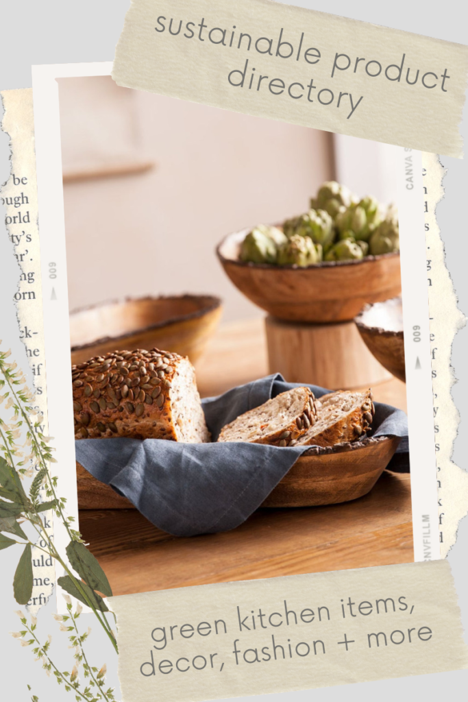 Keep the heart of your home healthy and eco-friendly with sustainable kitchen products like non-toxic cookware and organic cotton linens.